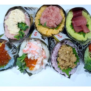 「カラフル酢飯」第2弾・新色2色加え、手巻き寿司発売 〜カラフル酢飯にオレンジ・紫が加わり全7色で展開〜